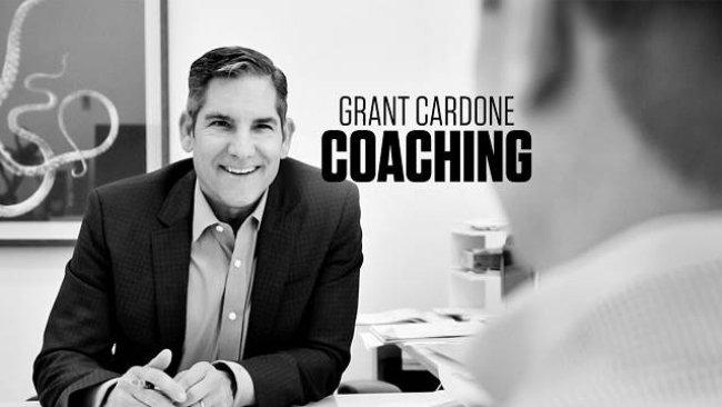 Chân dung của tỷ phú Grant Cardone