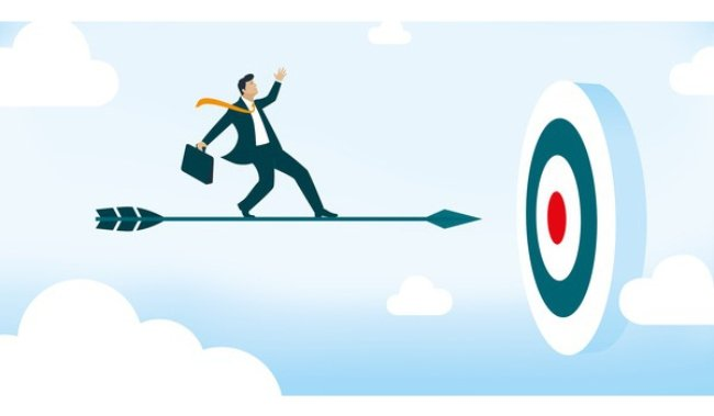 Xác định rõ mục tiêu của mình và phấn đấu để đạt được nó giúp bạn học cách làm giàu từ hai bàn tay trắng