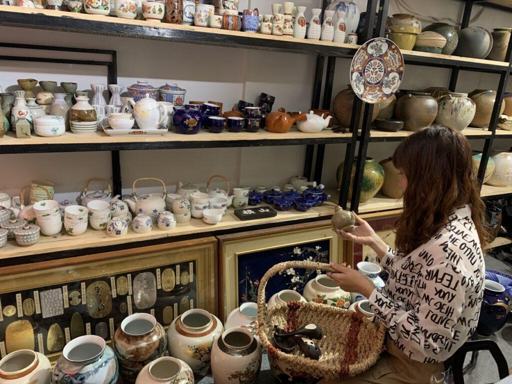 Kinh doanh tiệm bán đồ gốm