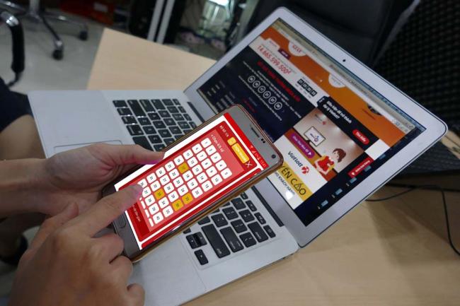 Mua vé số Mega online chỉ với chiếc smartphone