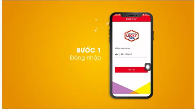 Đăng nhập vào app bằng số điện thoại