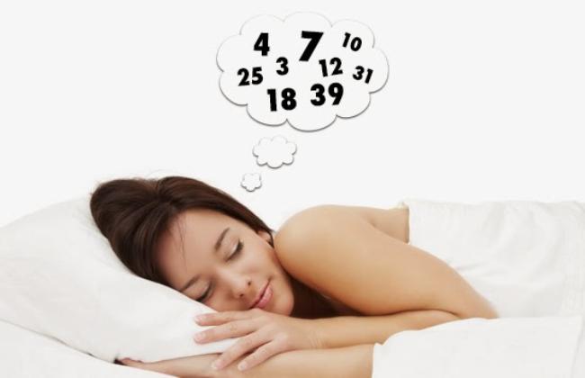 Ngủ mơ thấy có người báo mộng cho số là điềm báo rất may mắn
