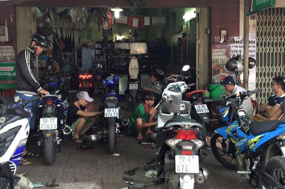 Nhu cầu cao giúp nghề sửa chữa xe đạp, xe máy rất đáng để thử