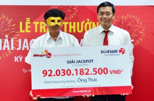 Ông Thái - một trong những người chơi đầu tiên trúng giải Vietlott