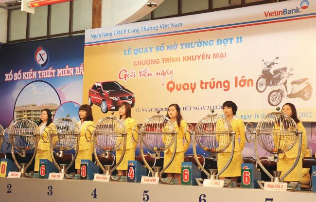 Xổ số kiến thiết là loại hình xổ số đầu tiên tại Việt Nam