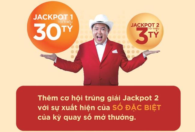 Giải Jackpot 1 và giải Jackpot 2 trong xem các giải đặc biệt