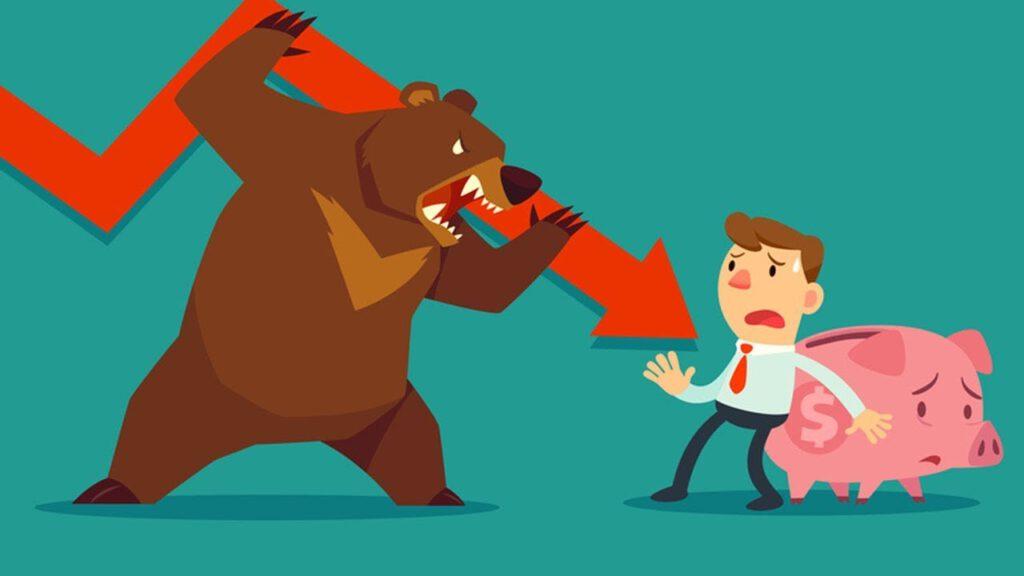 Bear Market tạo ra tác động tiêu cực gì đến nhà đầu tư?