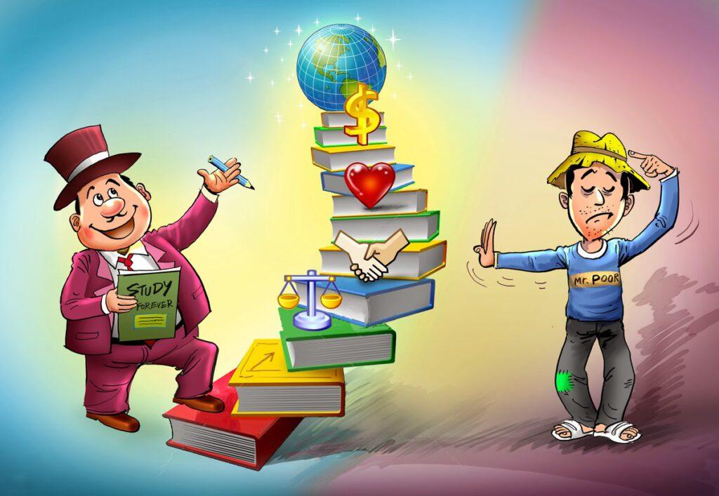 Trau dồi kiến thức tài chính và bí kíp để làm giàu