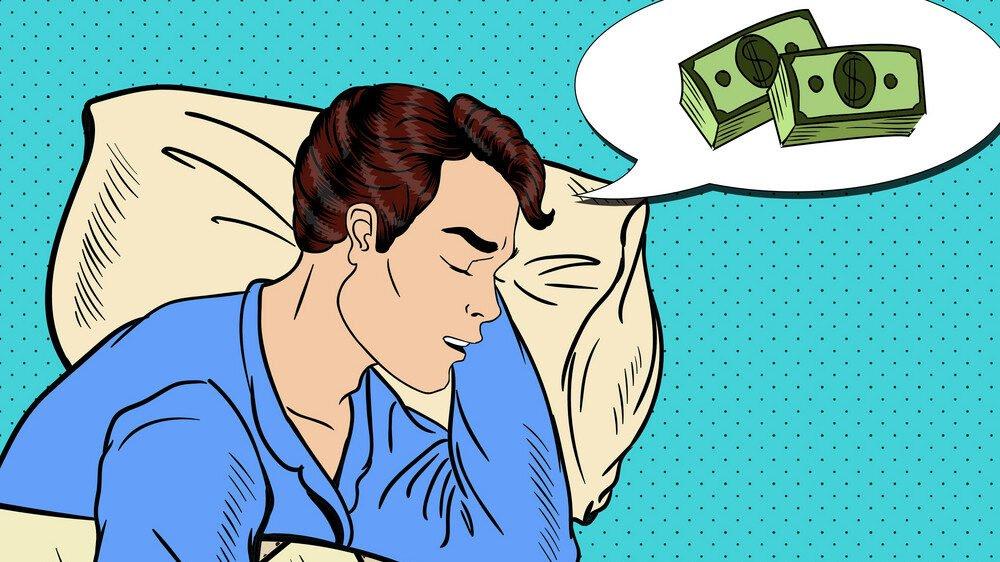 Nằm mơ thấy mất tiền có ý nghĩa như thế nào