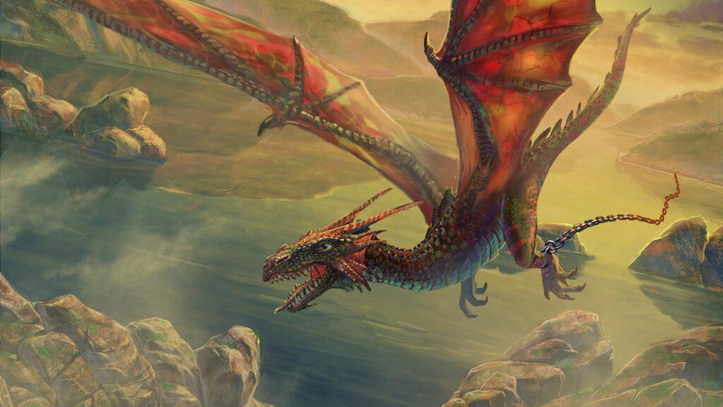 Giải mã giấc mơ thấy rồng bay lượn