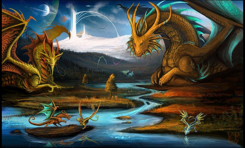 Nằm mơ thấy rồng đánh con gì