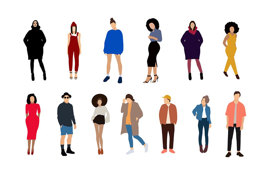 Nghệ thuật ăn mặc tạo nên sự khác biệt