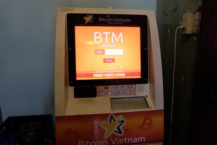 Máy ATM Bitcoin tại Việt Nam