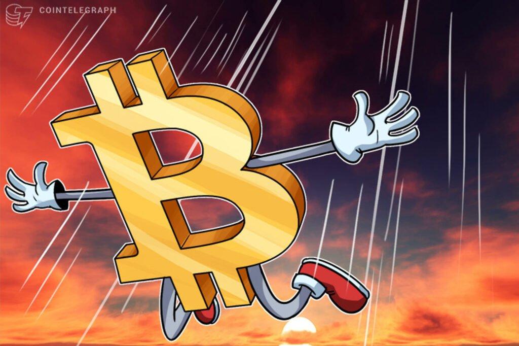 Bitcoin rơi tự do ngày 24/9