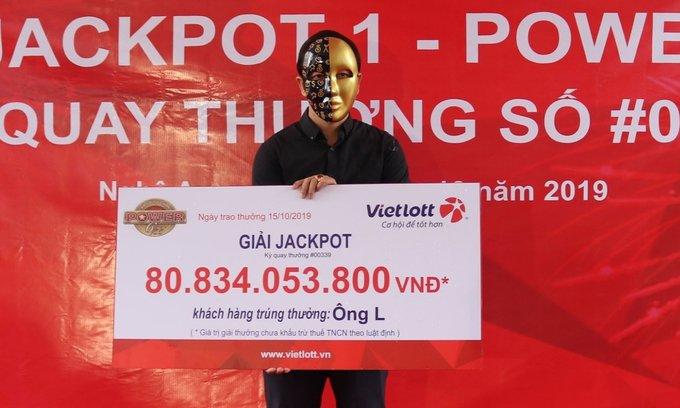 Chủ nhân giải Jackpot 81 tỷ
