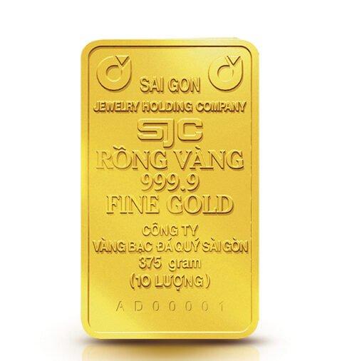 Vàng miếng SJC 10 lượng
