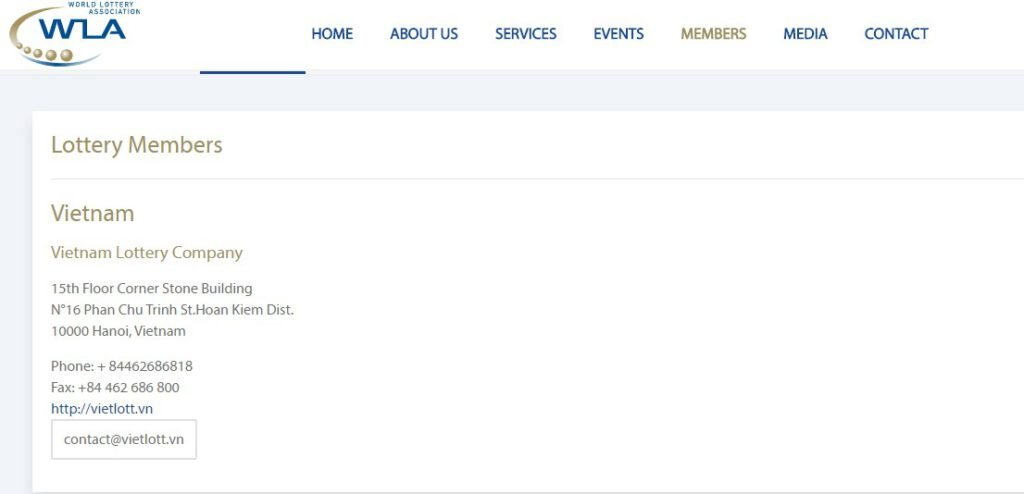 Vietlott tự hào là thành viên Hiệp hội Xổ số thế giới