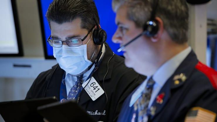 Nhà đầu tư trên Sở giao dịch chứng khoán New York