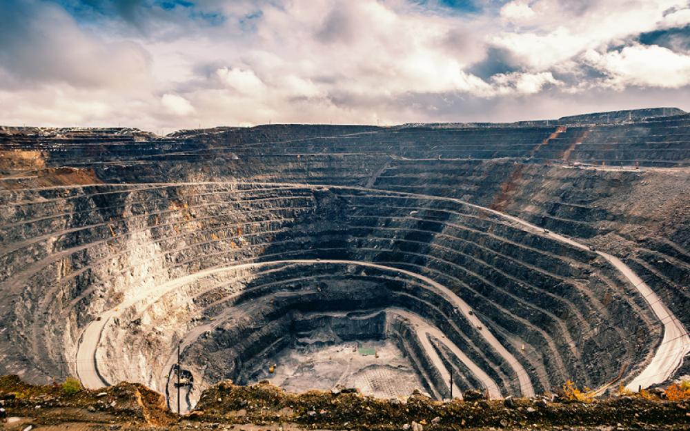Mỏ vàng Olimpiada ở nước Nga