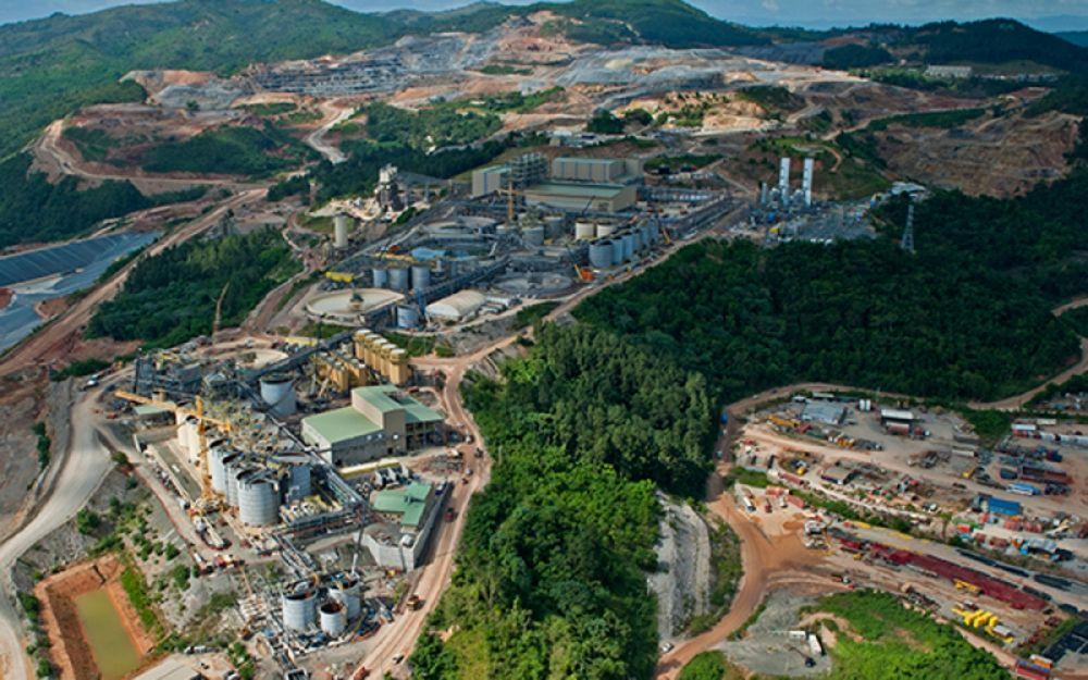 Mỏ vàng Pueblo Viejo ở Dominica