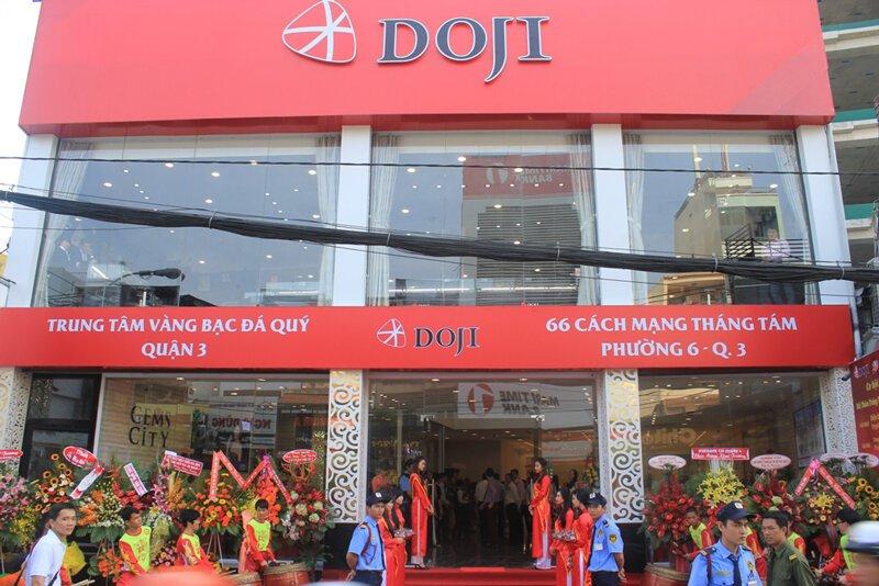 Cửa hàng trang sức uy tín Doji
