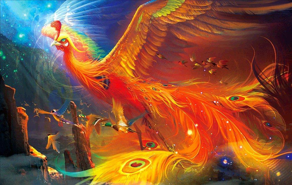 Mơ thấy chim phượng hoàng mang ý nghĩa may mắn