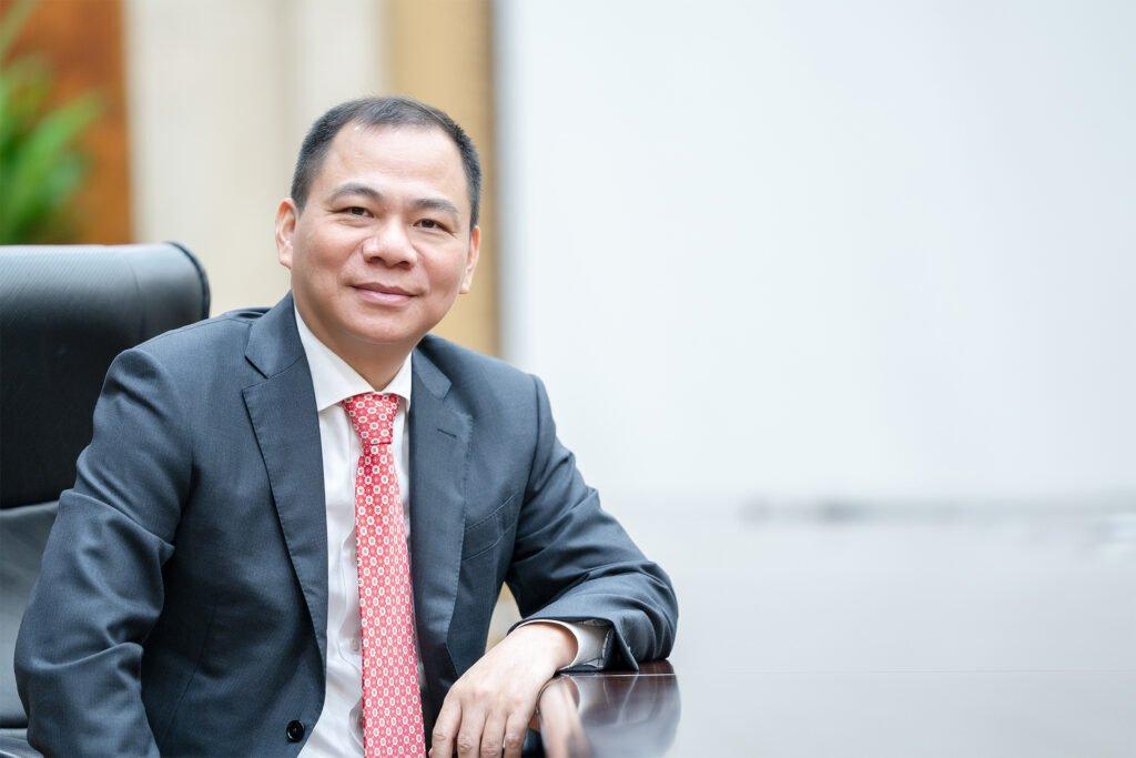 Người sáng lập tập đoàn Vingroup - Phạm Nhật Vượng