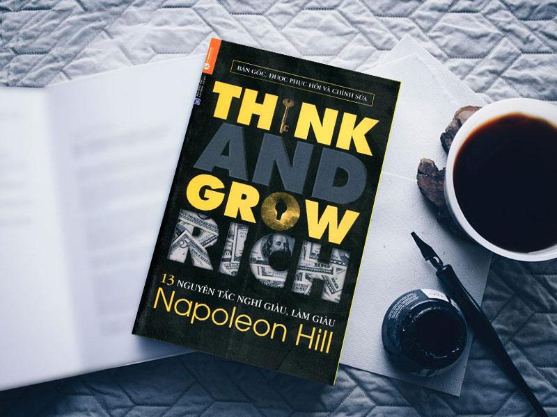 Sách 13 Nguyên tắc nghĩ giàu và làm giàu