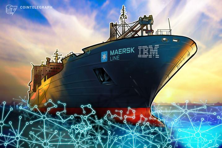 Công ty tàu hàng đầu tham gia nền tảng blockchain IBM và Maersk
