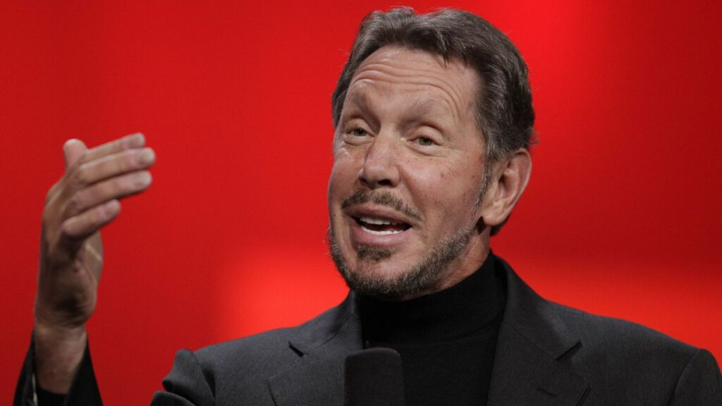 Tỷ phú Larry Ellison - Giám đốc tập đoàn Oracle