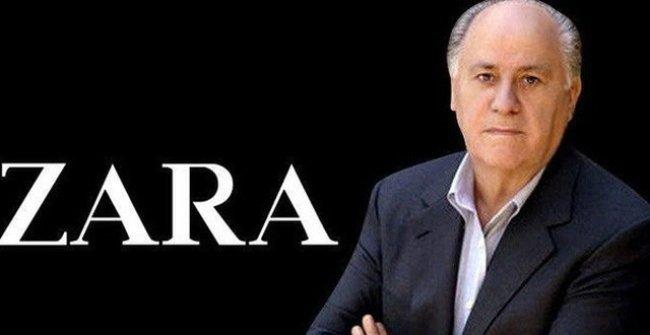 Tỷ phú Amancio Ortega - Người sáng lập thương hiệu thời trang nhanh Zara