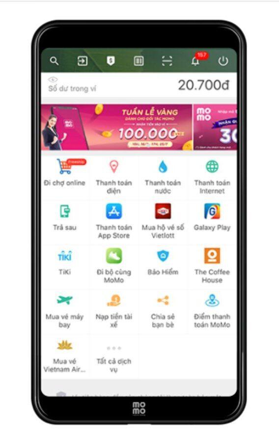 Sử dụng ứng dụng Lucky Best mua vé số