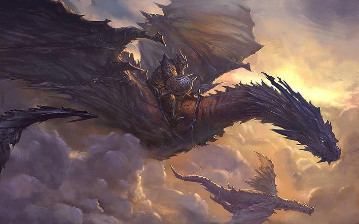 Chiêm bao cưỡi rồng khá là mạo hiểm