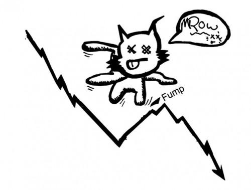 Thuật ngữ Dead Cat Bounce trong thuật ngữ chứng khoán